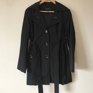 Jason Kole- Black Trench Coat